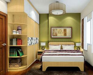 西林木业卧室衣柜板材案例